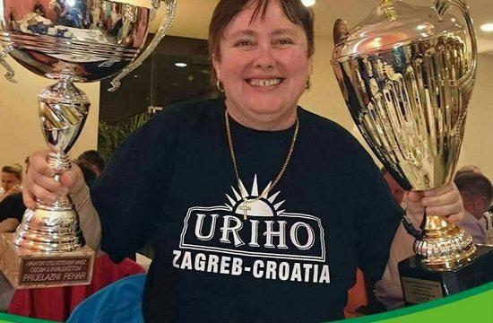 STKI URIHO Predsjednica Jadranka Blagus o šesnaestoj ekipnoj pobjedi na Državnom prvenstvu u stolnom tenisu za osobe s invaliditetom